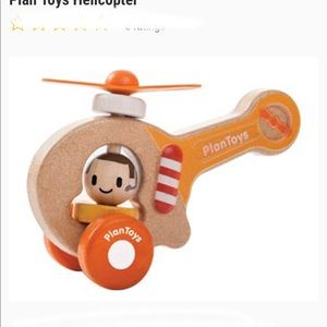 Plan Toys Wooden Australian toy helicopter